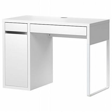 IKEA(イケア) MICKE ホワイト 収納付きデスク