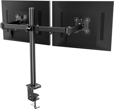 HUANUO モニターアーム 2画面 デュアル 高さ調整 13~27インチ対応