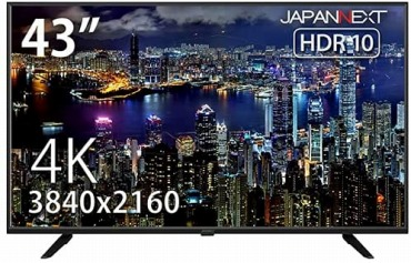 JapanNext JN-VT4300UHDR 4K 43インチモニター
