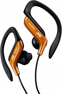 JVC HA-EB75-D スポーツ用イヤホン 耳掛け式