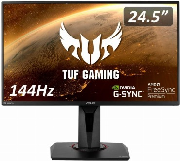 ASUS TUF Gaming ゲーミングモニター VG259Q 24.5インチ 144Hz