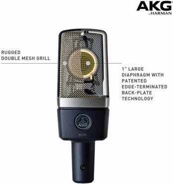 AKG(アーカーゲー) マイクの特徴
