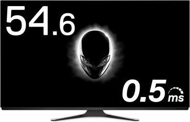 ALIENWARE 有機EL 4Kゲーミングモニター 54.6インチ