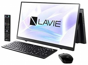 NEC 一体型 デスクトップパソコン LAVIE Home All-in-one  HA770/RAB 23.8インチ Core i7