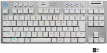 Logicool G(ロジクール G) ゲーミングキーボード テンキーレス ワイヤレス G913 TKL ホワイト