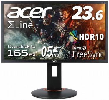 Acer ゲーミングモニター XF240QSbmiiprx 23.6インチ ワイド 縦置き対応