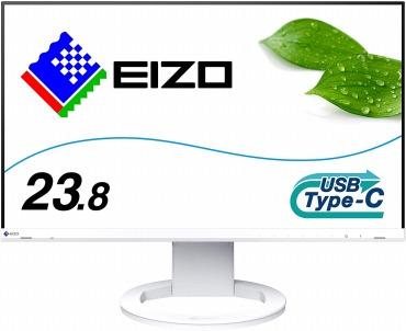 EIZO FlexScan EV2480-WT 23.8インチ ホワイト
