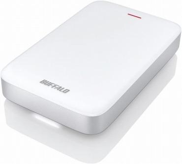 バッファロー ポータブルHDD Thunderbolt+USB3.0Type-C変換ケーブル付 HD-PA1.0TU3-C
