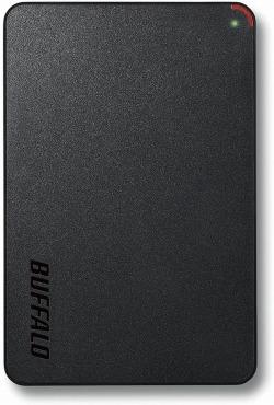 バッファロー 2.5インチ(ポータブル) 外付けHDD HD-PCF1.0U3-BBE