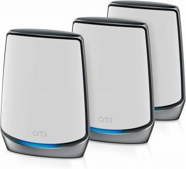 NETGEAR Orbi WiFi6 メッシュ 無線LAN ルーター トライバンド RBK853